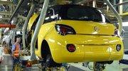 Opel débute la production de l'Adam