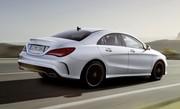Mercedes CLA : CLS en miniature