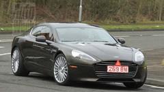 L'Aston Martin Rapide S sans camouflage