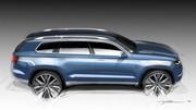 VW CrossBlue concept, 7 places dans un Touareg