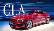 Mercedes CLA : coupé quatre-portes