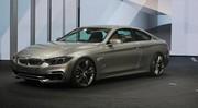 BMW Série 4 Coupé Concept dévoilée à Detroit : les photos du coupé de la Série 3