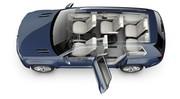 CrossBlue Concept : le SUV hybride rechargeable de VW
