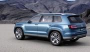 Volkswagen present son concept SUV CrossBlue