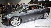 Cadillac ELR hybride rechargeable, haut de gamme vert