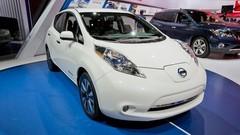 Nissan Leaf restylée