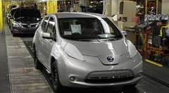La Nissan Leaf est devenue américaine