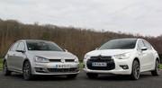 Essai Citroën DS4 vs VW Golf : presque Premium