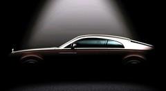 Rolls-Royce Wraith : première image du fastback