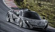 McLaren P1, première apparition officielle