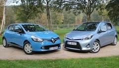 Essai Renault Clio 4 1.5 dCi 90 ch vs Toyota Yaris HSD 1.5 100 ch : Diesel contre hybride