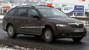Škoda Octavia Combi 2013 : photos sans camouflage