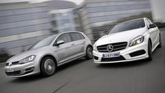 Essai VW Golf 2.0 TDI 150 DSG vs Mercedes A 200 CDI 7G-DCT : La Golf tient sa première étoile