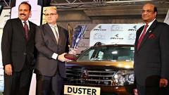 Le Renault Duster comme à la parade en Inde