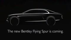 Un teaser pour la Bentley Continental Flying Spur 2014