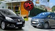 Citroën C4 Picasso 2 contre Renault Scénic 2013 : Le duel des ténors