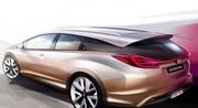 Honda Civic break : le concept prêt pour Genève