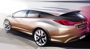 Honda Civic Wagon concept : une Civic break au salon de Genève