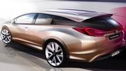 Honda Civic Wagon Concept : rendez-vous à Genève !