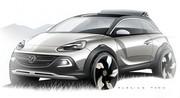 Opel Adam Rocks : la citadine passe en mode crossover cabrio