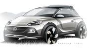 Opel Adam Rocks Concept, crossover ET découvrable