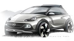 Opel Adam Rocks : un concept 2 en 1 pour Genève
