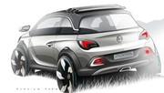 Opel Adam Rocks Concept, baroudeur à ciel ouvert