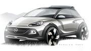 Opel Adam Rock : un concept baroudeur et découvrable pour Genève