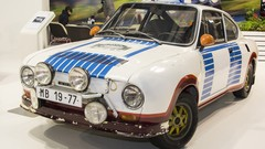 Retromobile 2013 : la compétition automobile selon Skoda