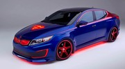 Une Kia Optima Hybride pour Superman !