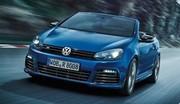 VW Golf R cabriolet 2013 : 250 Km/h cheveux au vent