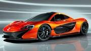 Un tableau de bord numérique pour la McLaren P1