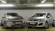 Essai Peugeot 208 vs Kia Rio : le roi lion