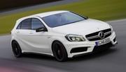 Mercedes-Benz A 45 AMG, étoile vitesse lumière