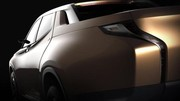 Mitsubishi GR-HEV Concept, l'hybride version pick-up