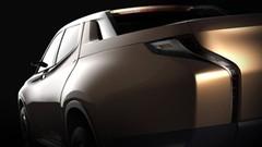 Mitsubishi GR-HEV, le pick-up hybride électrique