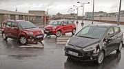 Essai Citroën C3 Picasso vs Fiat 500L vs Ford B-Max : Passionnellement rationnels