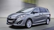 Léger restylage pour la Mazda 5