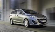 Mazda 5 : quelques petites retouches et adaptations