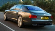 La Bentley Continental Flying Spur en fuite
