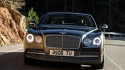 La Bentley Flying Spur en fuite