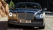 Bentley Flying Spur, avec 3 hauteurs de fonctionnement