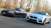 Essai BMW M6 560 ch vs. Jaguar XKR-S 550 ch : La crème des survireuses