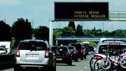Une régulation de vitesse dynamique sur l'A6 à Auxerre