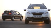 Peugeot 2008 Hybrid Air, le démonstrateur