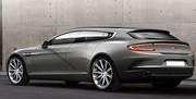 Une Aston Martin Rapide façon Bertone