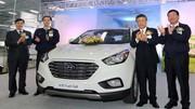 Hyundai lance la production en série de son iX35 à hydrogène