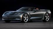 La Corvette Stingray cabriolet se montre