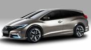 Avec sa Civic Tourer Concept, Honda veut faire le break