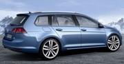 Volkswagen présente son break Golf 7 SW